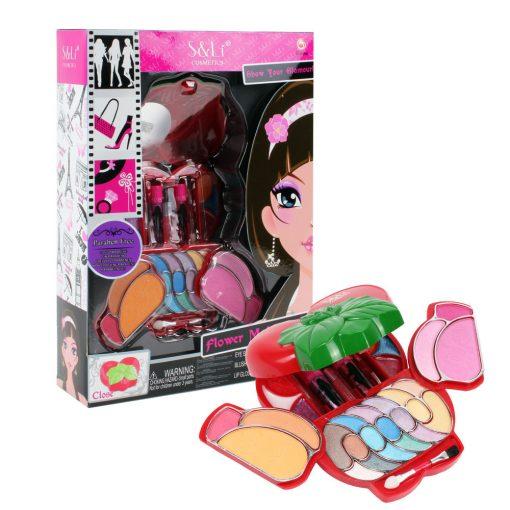 Brinquedo de menina kit de maquilhagem