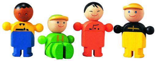Brinquedo de madeira PlanToys Comerciantes