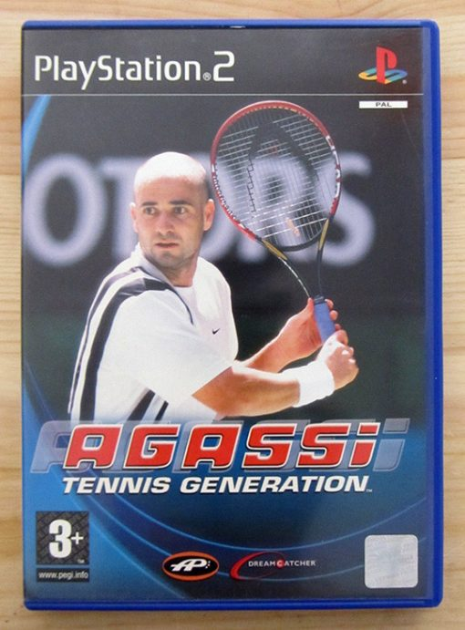 Videojogo Usado PS2 Agassi Tennis Generation