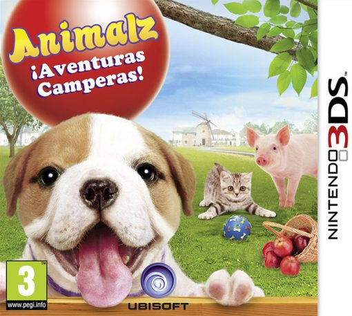 Videojogo 3DS Petz: Countryside - Animalz: Aventuras no Campo