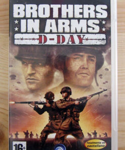 Videojogo Usado PSP Brothers in Arms: D-Day