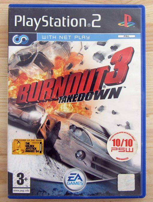 Burnout 3: Takedown PS2