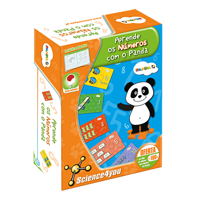 Brinquedo Science 4 You Aprende os números com o Panda