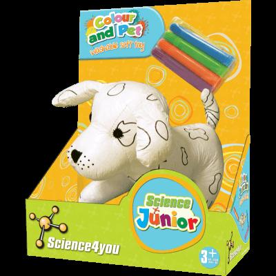 Brinquedo Science 4 You - Peluche lavável - Cão