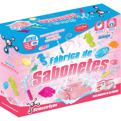 Brinquedo Science 4 You Fábrica dos Sabonetes