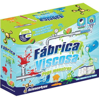 Brinquedo Science 4 You Fábrica Viscosa - Pega Monstros