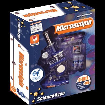 Brinquedo Science 4 You - Microscópio