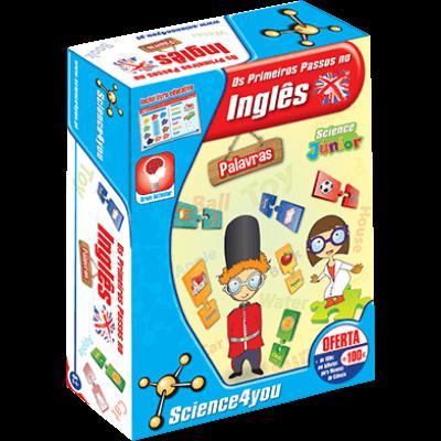 Brinquedo Science 4 You - Primeiros Passos no Inglês