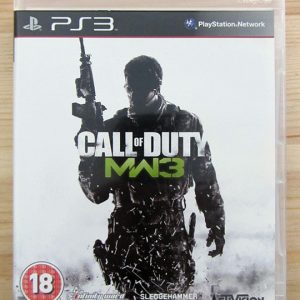 Videojogo Usado PS3 Call of Duty: Modern Warfare 3