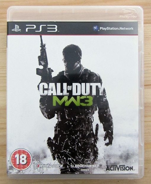 Videojogo Usado PS3 Call of Duty: Modern Warfare 3