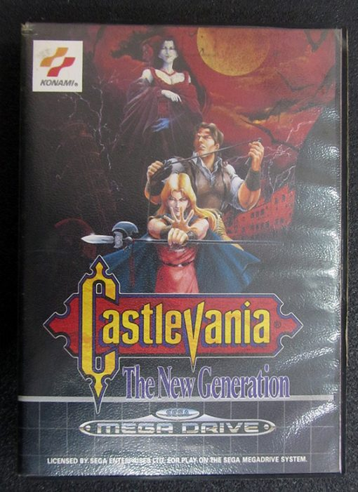 Castlevania: The New Generation MEGA DRIVE