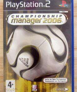 Videojogo Usado PS2 Championship Manager 2006