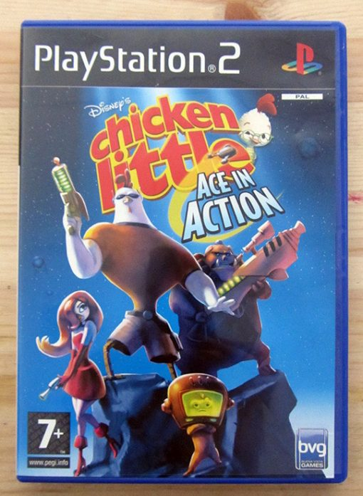 Videojogo Usado PS2 Chicken Little: Ace in Action
