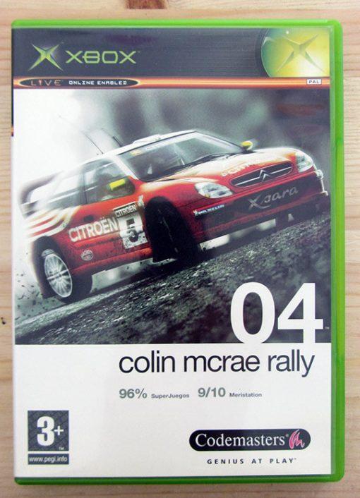 Videojogo Usado XBOX Colin McRae Rally 04