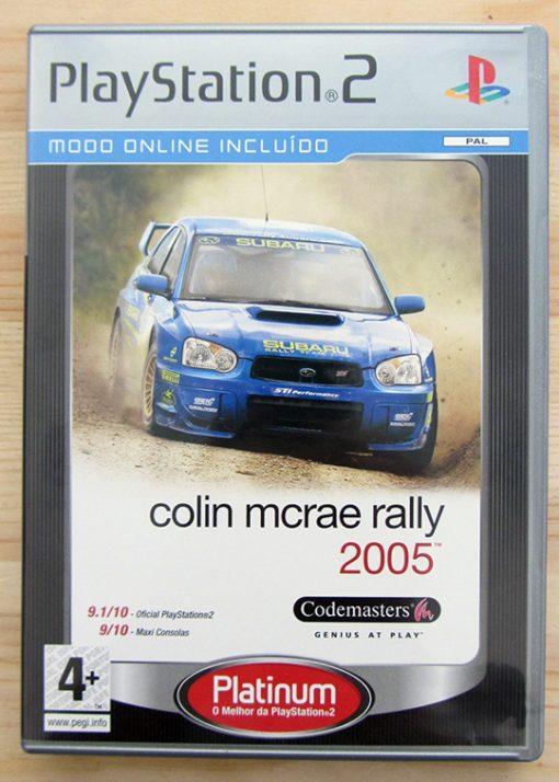 Colin McRae Rally 05 PS2