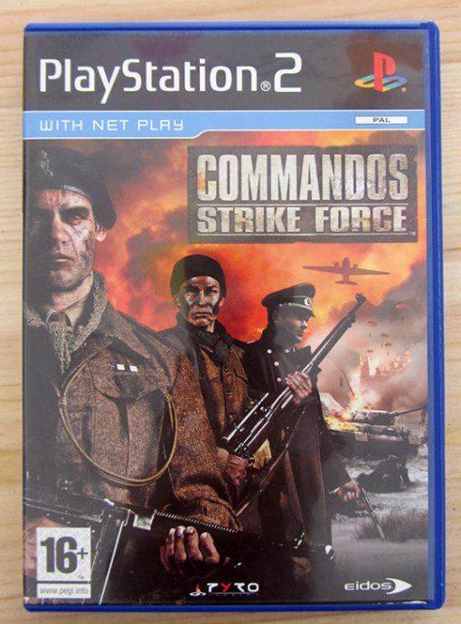 Videojogo Usado PS2 Commandos: Strike Force