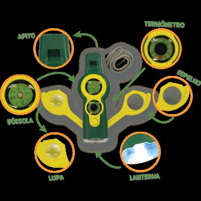 Brinquedo Science 4 You - Kit Explorador 7 em 1