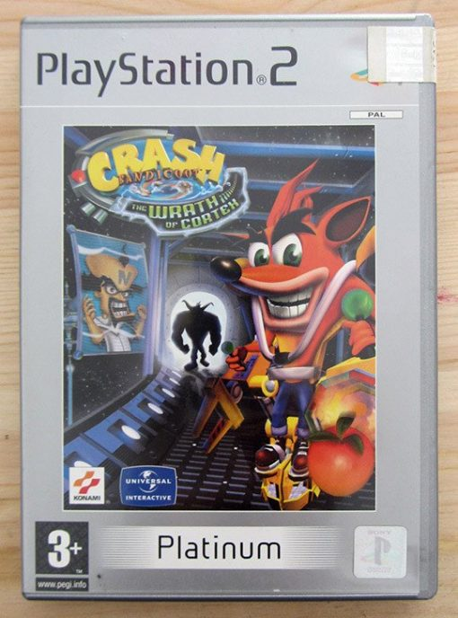 Videojogo Usado PS2 Crash Bandicoot: The Wrath of Cortex
