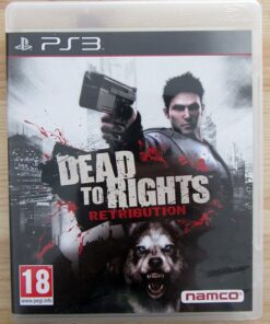 Videojogo Usado PS3 Dead to Rights: Retribution
