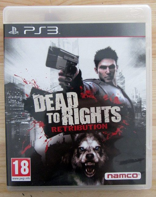 Videojogo Usado PS3 Dead to Rights: Retribution