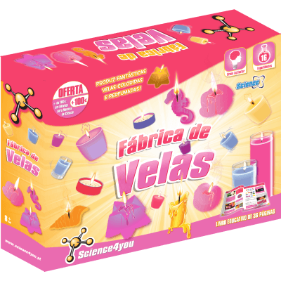 Brinquedo Science 4 You Fábrica de Velas