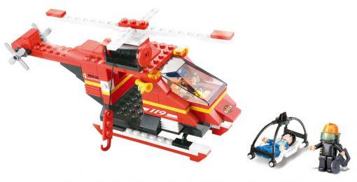 Brinquedo de construção Fire Alarm Helicóptero de Salvamento