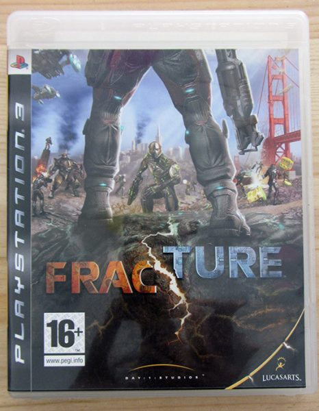 Videojogo Usado PS3 Fracture