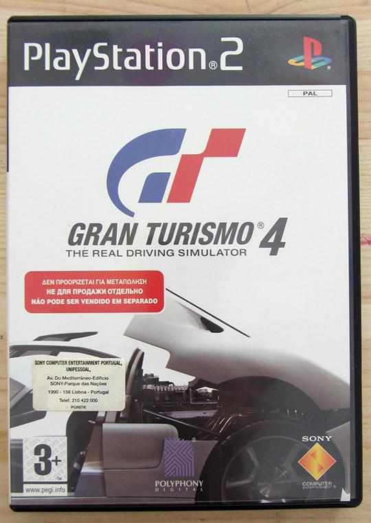 Videojogo Usado PS2 Gran Turismo 4