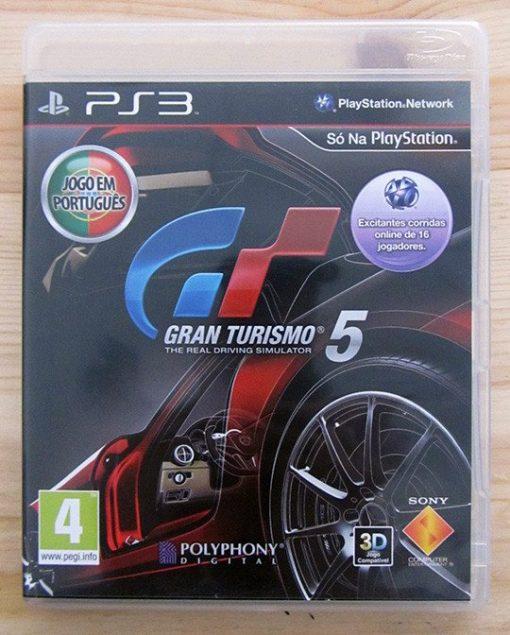 Videojogo Usado PS3 Gran Turismo 5