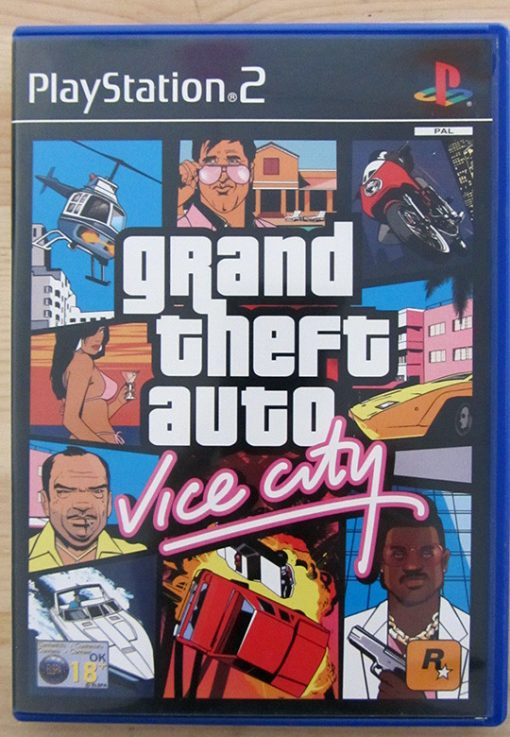 Grand Theft Auto: Vice City PS2