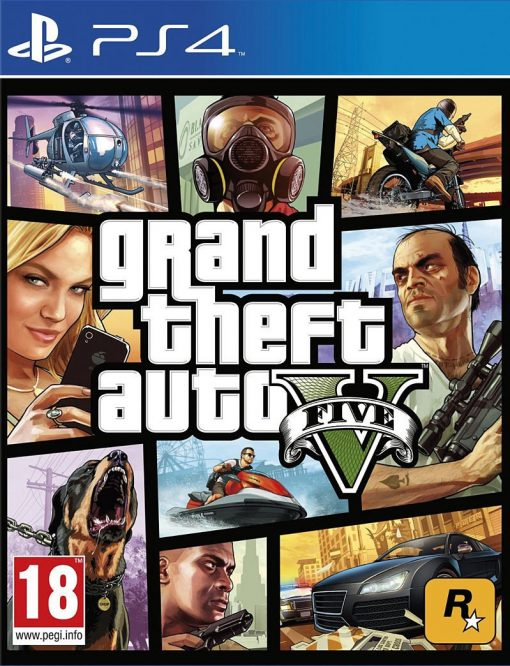 Videojogo PS4 Grand Theft Auto V