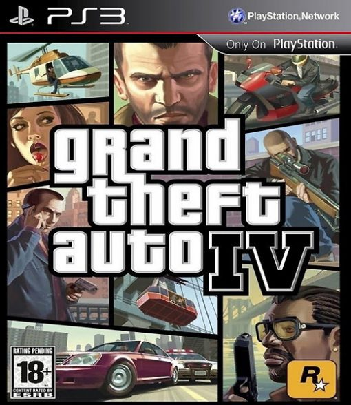 Videojogo PS3 Grand Theft Auto IV