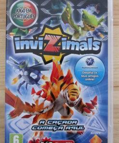 Videojogo Usado PSP Invizimals
