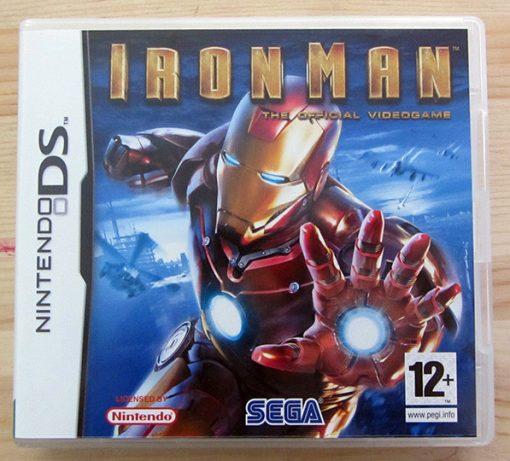 Videojogo Usado Nintendo DS Iron Man