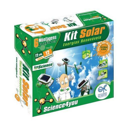 Brinquedo Science 4 You - Kit Solar 6 em 1