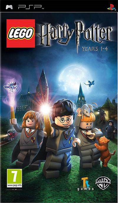 Videojogo PSP Lego Harry Potter 1-4
