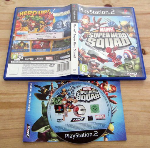 Marvel Super Hero Squad PS2