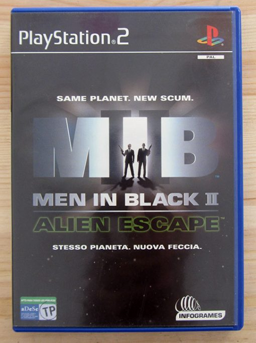 Videojogo Usado PS2 Men in Black II: Alien Escape