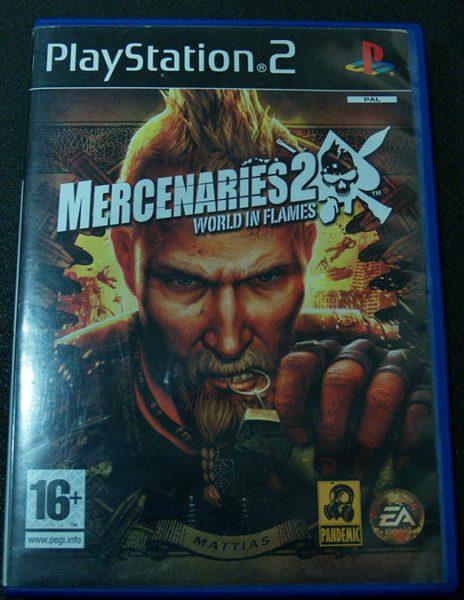 Mercenaries 2: World in Flames PS2