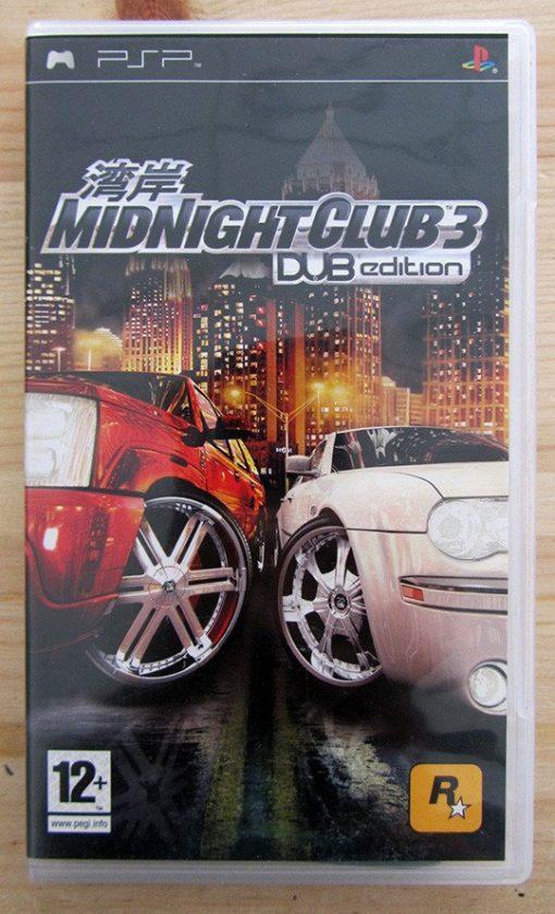 Videojogo Usado PSP Midnight Club 3: DUB Edition