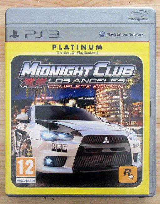 Videojogo Usado PS3 Midnight Club Los Angeles: Complete Edition