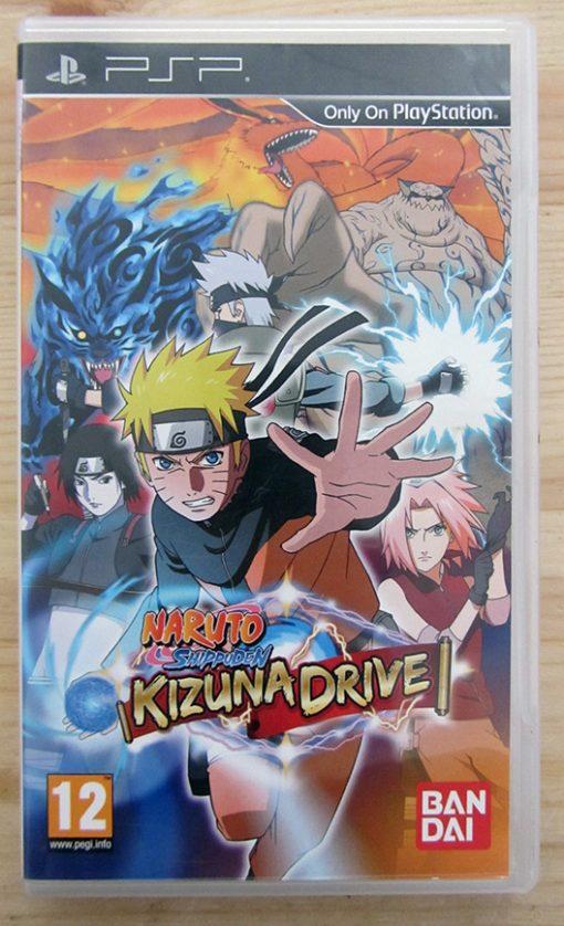 Naruto Shippuden: Kizuna Drive PSP
