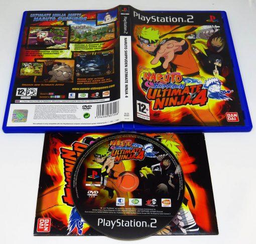 Naruto Shippuden Ultimate Ninja 4 PS2