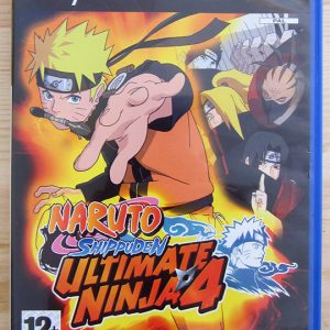 Videojogo Usado PS2 Naruto Shippuden Ultimate Ninja 4