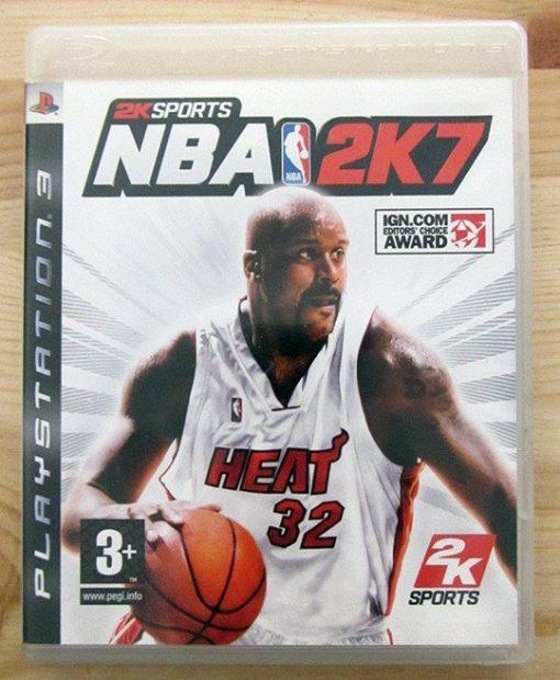 Videojogo Usado PS3 NBA 2K7
