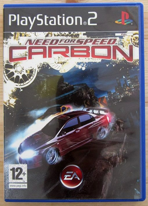 Videojogo Usado PS2 Need for Speed Carbon