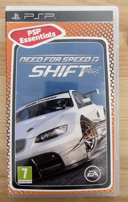Videojogo Usado PSP Need for Speed: Shift