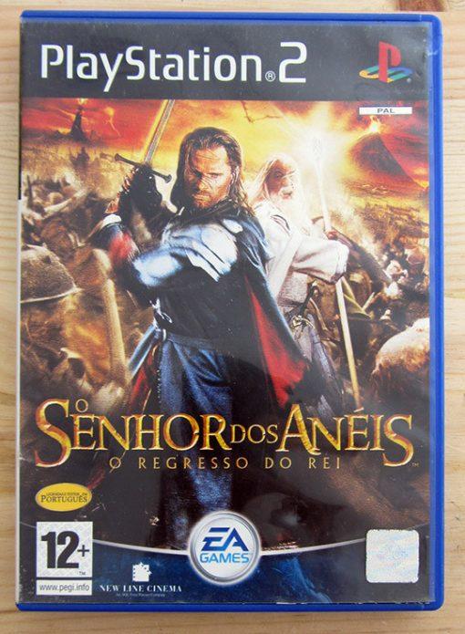 Videojogo Usado PS2 O Senhor dos Anéis: O Regresso do Rei