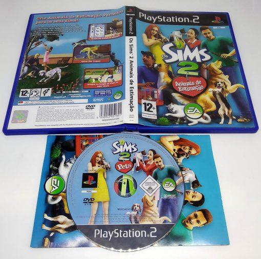 Os Sims 2: Animais de Estimação PS2