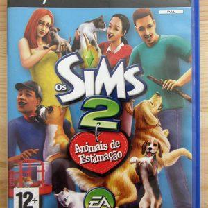 Videojogo Usado PS2 Os Sims 2: Animais de Estimação
